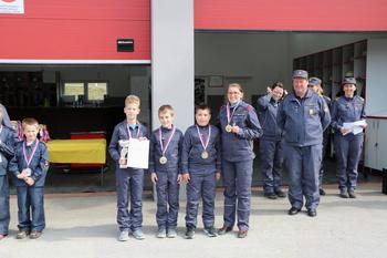 Mladi gasilci ponovno dokazali odlično znanje in spretnost