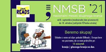 Nacionalni mesec skupnega branja, NMSB 2021