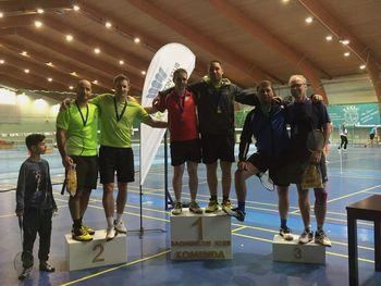 Nova odličja na 2. badminton turnirju Lige Komenda