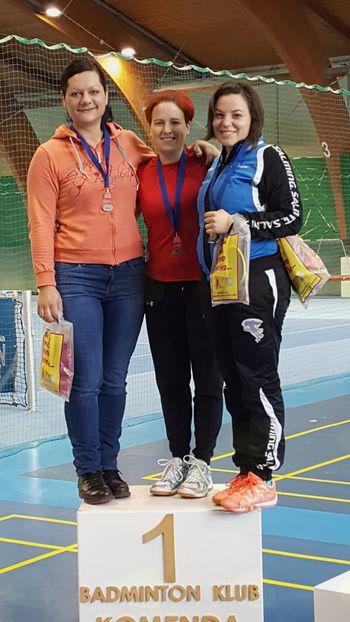 Turnir posameznikov b badmintonu v Harmoniji