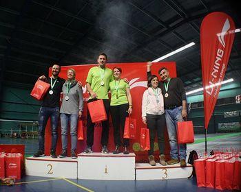 Zmaga v mešanih dvojicah za člana Badminton kluba Mengeš