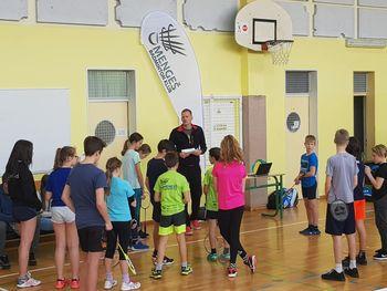 Področno tekmovanje v badmintonu posamezno za učence in učenke osnovnih šol