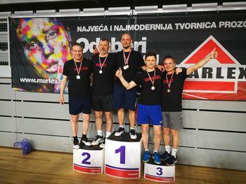 Badminton: BK Mengeš vrhunski v Varaždinu