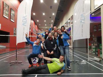Badminton klub Mengeš iz Varaždina s 6 medaljami