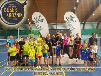Uspešna sezona za Badminton klub Mengeš