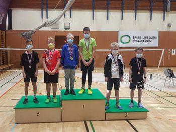 Mlajši člani uspešni na turnirjih