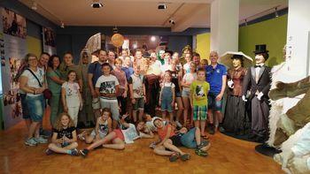 Otroška folklorna skupina zaključila šolsko leto z dvodnevnim izletom v Cerkno