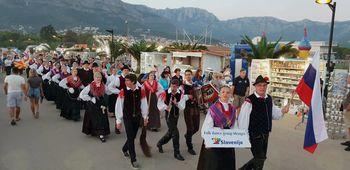 Turneja mengeške folklore v Črni gori