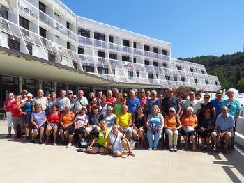 Letovanje članov Društva upokojencev Kanal 2019 – otok Korčula Vela Luka