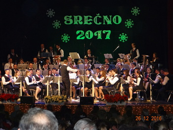 Tradicionalna novoletna koncerta Mengeške godbe 2017