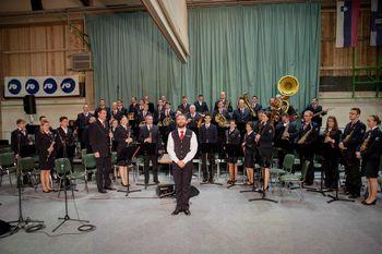 10 let kapelništva, tekmovalni koncert in zlata godbenika
