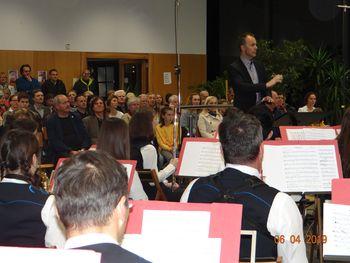 Zaključni koncert Dirigentske šole z Mengeško godbo
