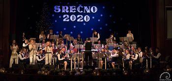 Božično-novoletna koncerta Mengeške godbe – Srečno 2020