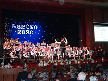 Novoletni koncert Mengeške godbe 2020