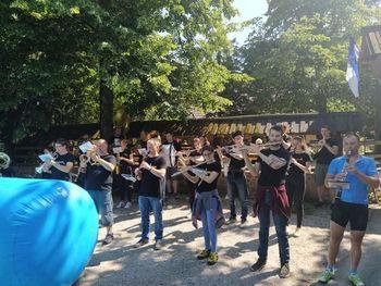 Glasbeno-športne novičke Mengeške godbe