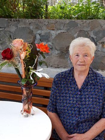 Angela Velišček iz Ložic je praznovala svoj 90. rojstni dan