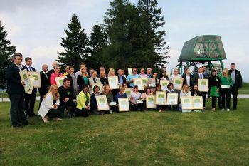 Na osrednjem dogodku trajnostnega turizma v Sloveniji podeljena priznanja Slovenia Green