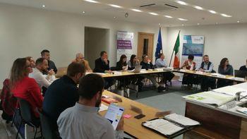 Šesto medregionalno srečanje na Irskem projekta TRINNO
