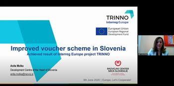 """Razvojni center Srca Slovenije predstavil slovensko dobro prakso na pomembnem evropskem dogodku """"Europe, Let's cooperate"""""""
