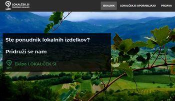 Po lokalne izdelke na Lokalček.si