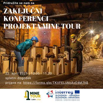 Vabljeni na zaključno konferenco projekta MINE TOUR