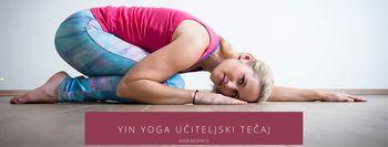 Yin yoga učiteljski tečaj