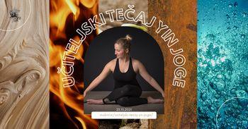 Učiteljski tečaj Yin joge