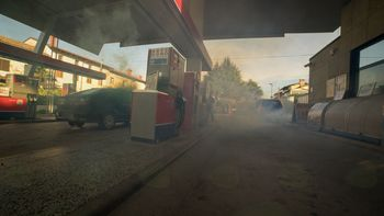 4 Vaja Požar na bencinskem servisu Miren 2018
