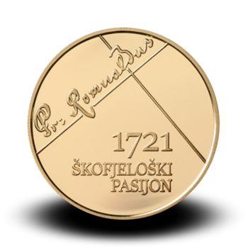 Podoba zbirateljskih kovancev Banke Slovenije prihaja iz Orehovelj