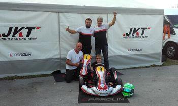 Imamo državnega prvaka v kategoriji Rotax Micro Max karting