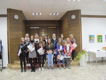 Odprtje razstave likovnih del osnovnošolcev treh občin