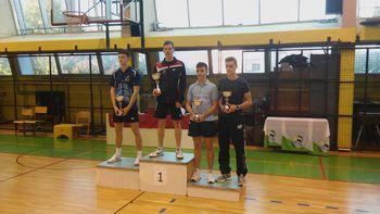 1. Odprti turnir Slovenije za mladince in mladinke v namiznem tenisu