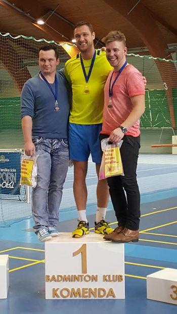 Turnir posameznikov v badmintonu v Harmoniji Mengeš