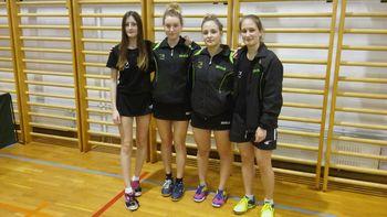 NTS Mengeš uspešen na ekipnih kvalifikacijah v namiznem tenisu