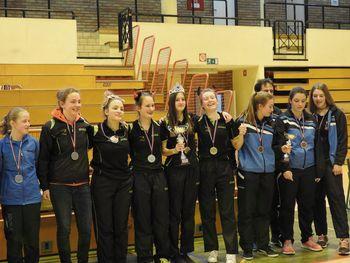 Mladinke NTS Mengeš ekipne državne prvakinje, mladinci tretji