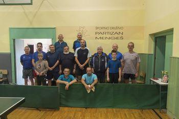 19. Odprto prvenstvo Mengša v namiznem tenisu