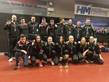 Mladinke NTS Mengeš so državne prvakinje, mladinci tretji