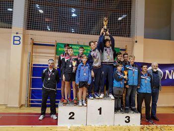Kadetinje NTS Mengeš državne prvakinje, kadeti drugi