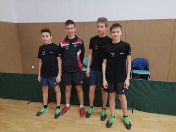 Kvalifikacije za ekipno državno prvenstvo v namiznem tenisu za mladince