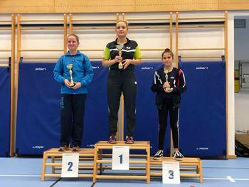 Tara Kobetič  zmagovalka 1. TOP R Slovenije v namiznem tenisu
