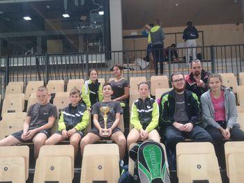 Luka Jokič zmagovalec na 1. odprtem turnirju  R Slovenije v namiznem tenisu za kadete in kadetinje