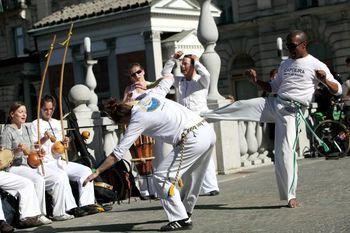 Brezplačni poskusni treningi capoeire v Ljubljani