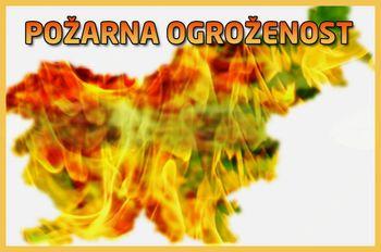 Razglas požarne ogroženosti naravnega okolja