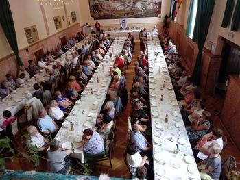 Zbor članov Območnega društva invalidov Dravinjske doline