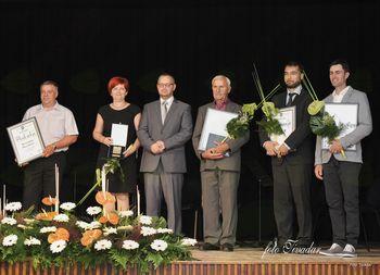 Nagrajenci Občine Veržej v letu 2018