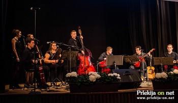 Koncert Tamburaške skupine Veržej navdušil občinstvo