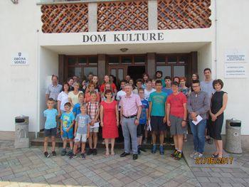 Sprejem za najuspešnejše učence Osnovne šole Veržej in Glasbene šole Slavka Osterca Ljutomer