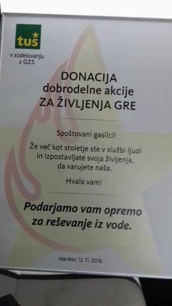 Donacija PGD Veržej