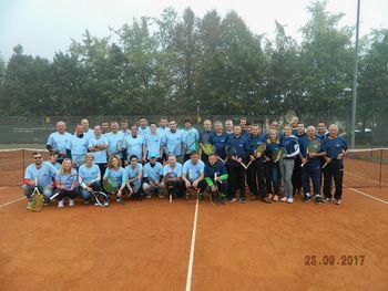 21. Tradicionalni teniški dvoboj Mali in Veliki Mengeš