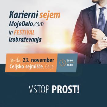 Karierni sejem MojeDelo.com bo povezal Savinjsko dolino